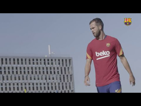 Pjanic trains with Barcelona for the first time | LaLiga 20/21 Moments
