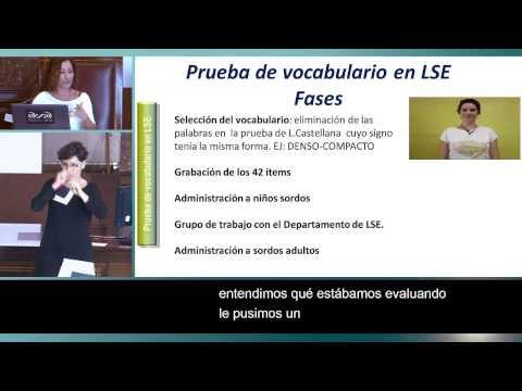 11. Proceso de adaptación de una prueba de vocabulario a la LSE