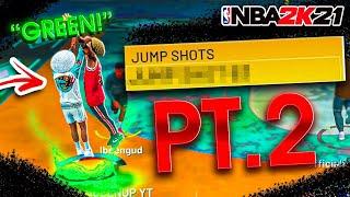 NEW BEST JUMPSHOT IN NBA 2K21! 100% GREENS NEVER MISS AGAIN!
