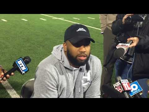 Chris Worley on watching Ted Ginn, Troy Smith in Michigan game
