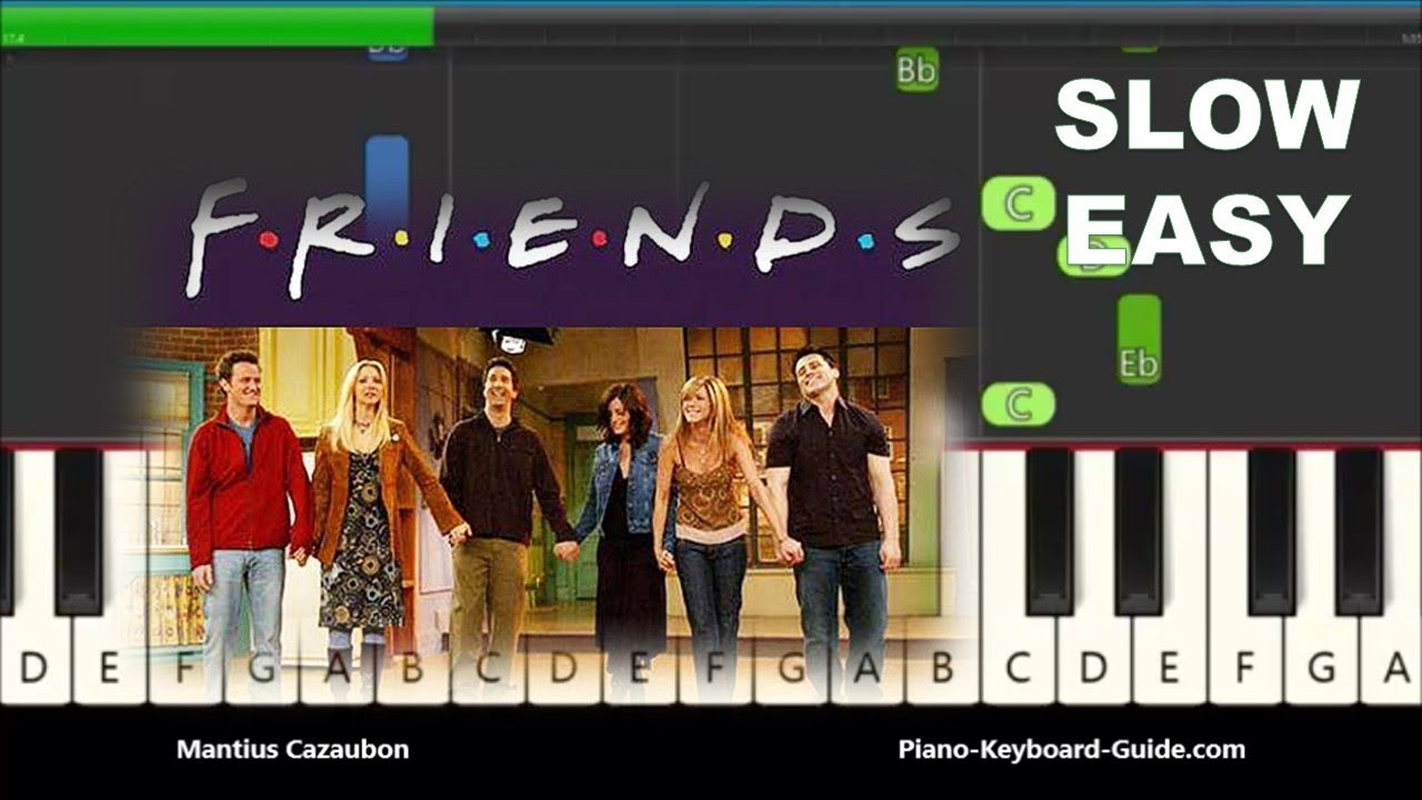 How To Play Friends Theme Song On Piano Easy Notes For Beginners 2)all songs will be in alphabetical order with free video tutorials links below. how to play friends theme song on piano