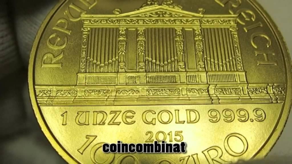 Goldmünze Philharmoniker Gold Coin Philharmonic Austria