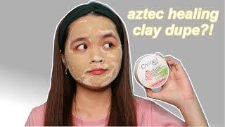 FIRST TIME GUMAMIT NG CLAY MASK! Maganda Ba? Chrizea Skin Clay Mask Review  | Monica Garcia ♡