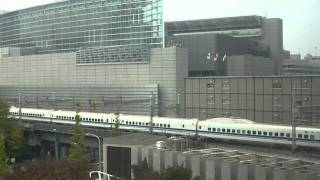 Trains from my room at the Four Seasons at Tokyo Station - Video 2