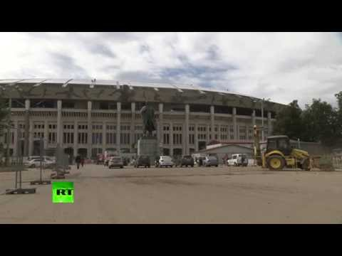 Делегация ФИФА посетила стадион «Лужники» в Москве