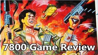 Ikari warriors atari 7800 review - the no swear gamer ep 243