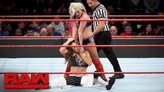 Alexa Bliss vs. Mickie James - Raw Women's Championship Match: Raw, Oct. 30, 2017