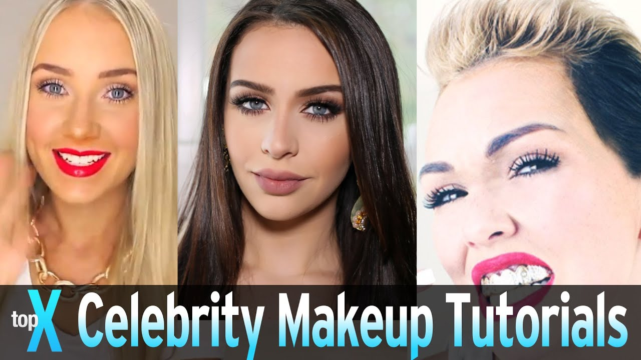 Top 10 youtube celebrity makeup tutorials topx ep39 youtube baditri Images