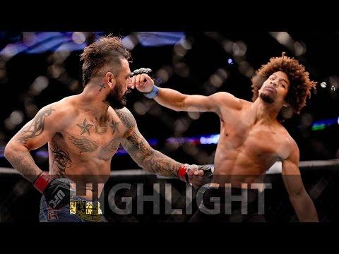 Highlight: Francisco Rivera vs. Alex Caceres