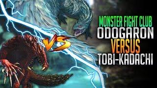 Tobi Kadachi VS Odogaron! Monster Hunter World PC Fight Club