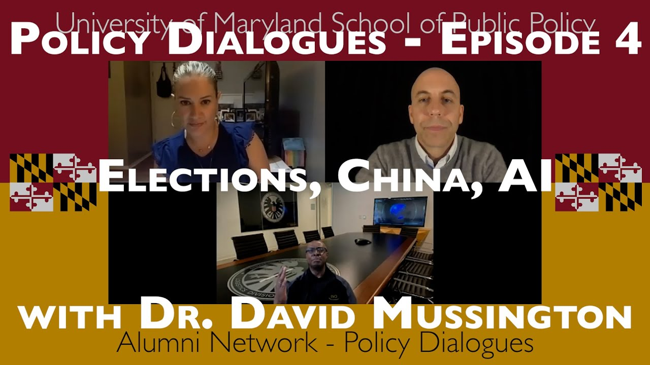 Elections, China, AI - Policy Dialogues Ep.4 w/ Dr. David Mussington