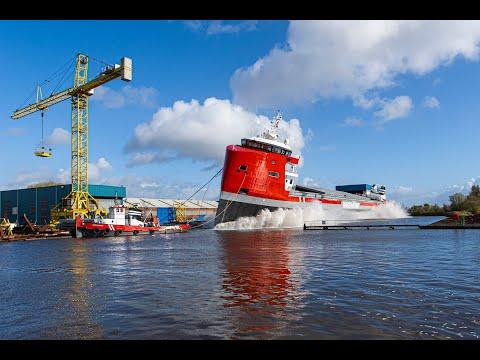 Launch EasyMax 2 at shipyard Royal Niestern Sander