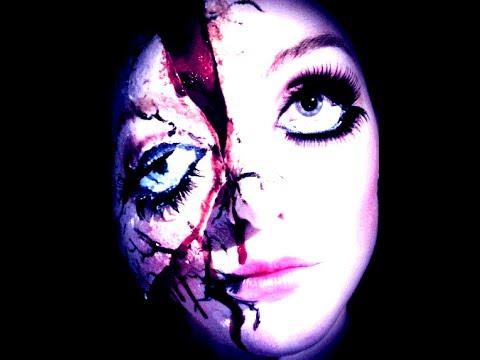 TME Beautilicious - Broken Doll Tutorial (DEAD SILENCE (official Theme Song) Charlie Clouser)