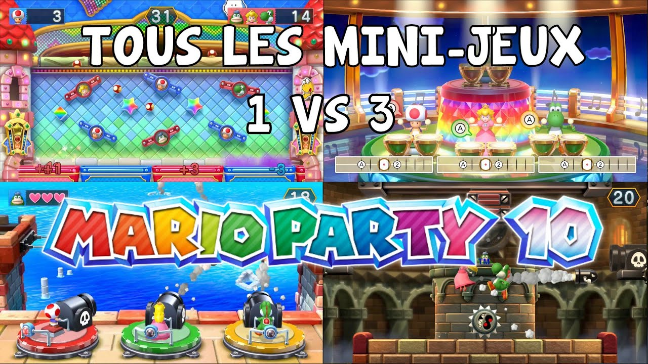 let 39 s play episode 9 mario party 10 fr nintendo wii u tous. Black Bedroom Furniture Sets. Home Design Ideas