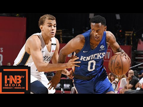New York Knicks vs New Orleans Pelicans Full Game Highlights / July 13 / 2018 NBA Summer League