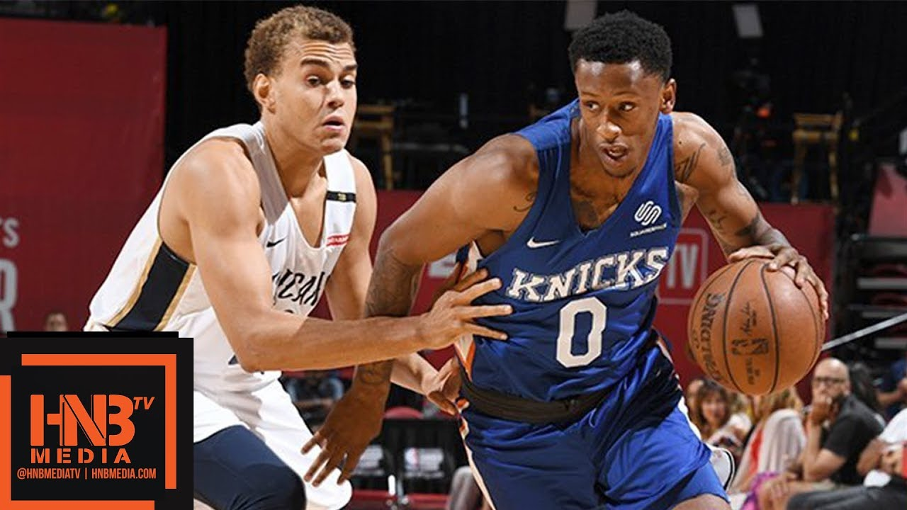 ce4fe9a36b9c New York Knicks vs New Orleans Pelicans Full Game Highlights   July 13    2018 NBA Summer League