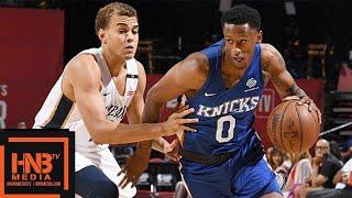 New York Knicks vs New Orleans Pelicans Full Game Highlights / July 13 / 2018 NBA Summer League