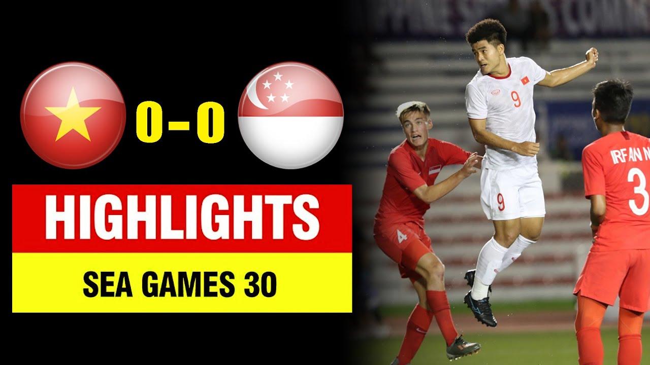 Highlights Việt Nam 1-0 Singapore | Đức Chinh tỏa sáng - U22 Việt Nam nhọc nhằn thắng Singapore