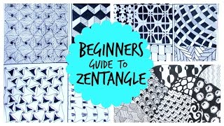 zentangles drawing lesson