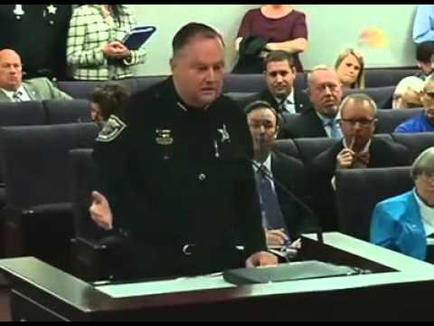 Bradford County Sheriff Gordon Smith supporting Florida Open Carry - YouTube