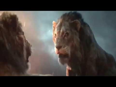 El Rey León/ Simba Pelea vs Hienas [Live Action 2019]