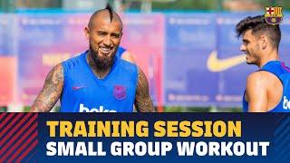 Monday training to open international break