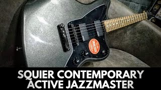 Squier by Fender Contemporary Active Jazzmaster HH | Review Demo