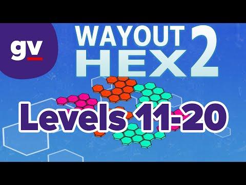 WayOut 2: Hex - Walkthrough Levels 11-20  