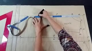 MODELAGEM BASE VESTIDO TUBINHO