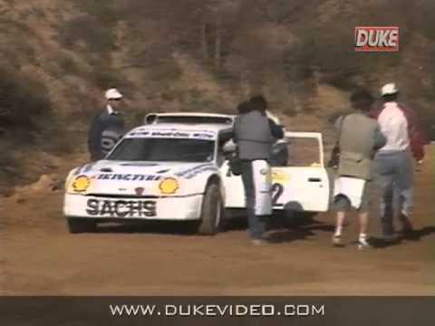 Duke DVD Archive - European Rallycross 1989