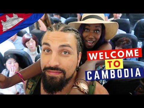 Traveling To Siem Reap | Khmer Food Tour In Cambodia | Visa On Arrival