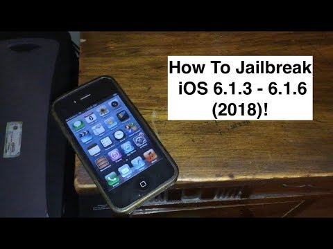 How To Jailbreak iOS 6 1 3 - 6 1 6 In 2018!