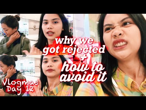 Passport Application Fail + Tips On How to Avoid Getting Rejected!(Philippines) #Vlogmas2018