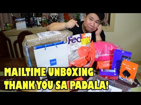 #MAILTIME UNBOXING AUGUST 2017 - gadgets, bobby bag, camera stuff and M&Ms