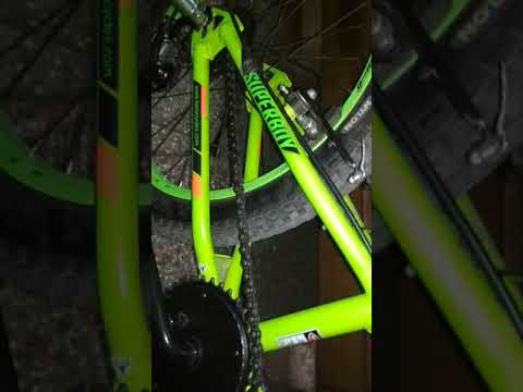 Install Gear In Any Bicycle And Mud Guard Saiguan Six 6gear Youtube