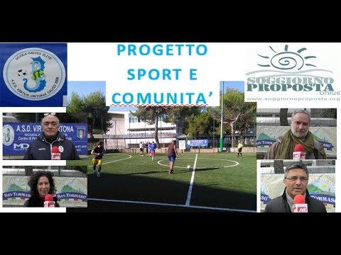 progetto sport e comunità - YouTube