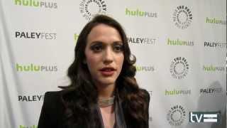 """2 Broke Girls Season 2 Interview: Kat Dennings """"Max Black"""""""