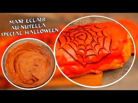 recette-du-maxi-eclair-au-nutella-spécial-halloween-!