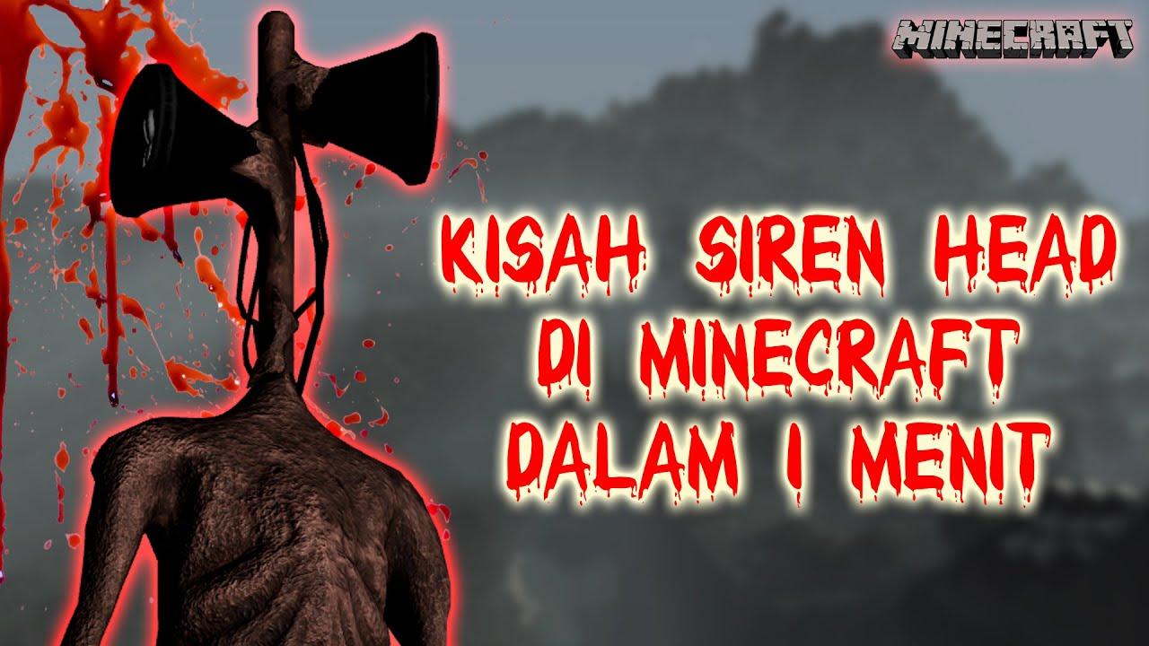 Download CERITA SIREN HEAD DI MINECRAFT DALAM WAKTU 1 MENIT! (Siren Head Story In Minecraft) #Shorts