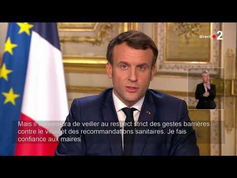 Covid-19 |Emmanuel Macron - Adresse aux Français