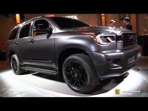 2021 Toyota Sequoia Night Shade Walkaround - Exterior Interior Tour - 2020 Chicago Auto Show