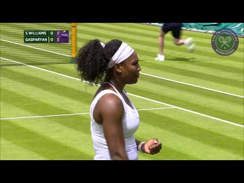 2015 Day 1 Highlights, Serena Williams vs Margarita Gasparyan