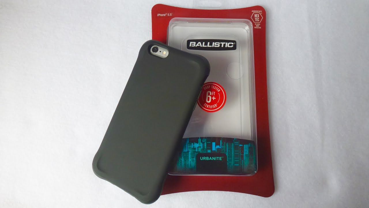 info for af1bd 02767 Ballistic Urbanite for iPhone 6 Plus: Powerfully Protective!