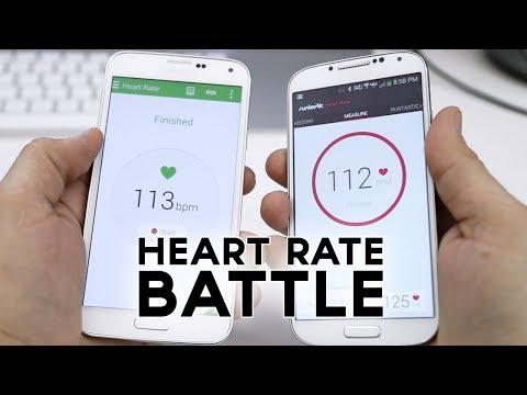 Samsung Galaxy S5 vs Galaxy S4 vs iPhone 5s: Heart Rate Sensor Comparison
