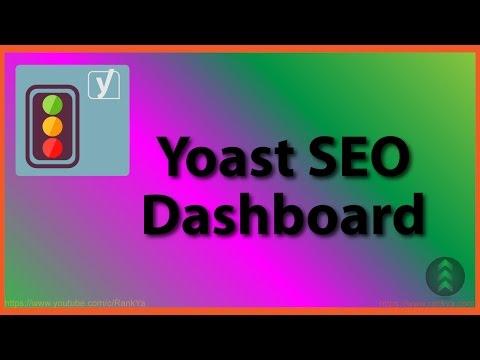 Yoast SEO Plugin Dashboard - 동영상