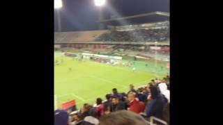 Cagliari-Palermo 2-1: lo spettacolo della Curva Nord