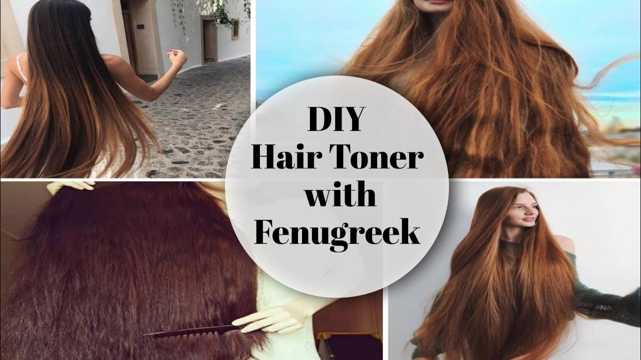 Download DIY Hair Toner with Fenugreek || Regrowth Double Hair At Home | 2021