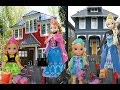 Anna and Elsa Toddlers Move To A New House #1 Elsya & Annya are Moving! Packing! Toys & Dolls Family