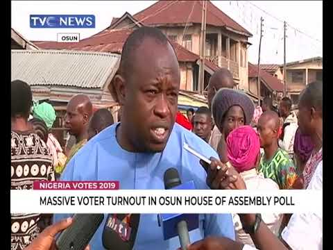Massive Turnout In Osun House Of Assembly Poll