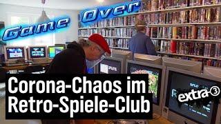 Realer Irrsinn: Darf der Retro-Spiele-Club öffnen? | extra 3 | NDR